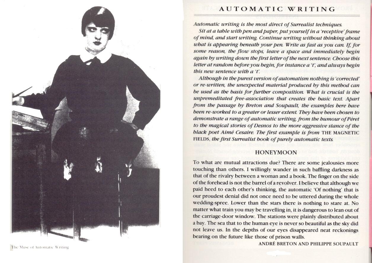Dada automatic writing authors
